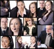 biznes na temat kolaż Obraz Stock