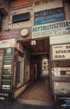 Biznes od past - Budapest Obraz Royalty Free