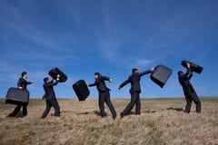 biznes opuszczać podróż Fotografia Stock