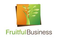 biznes owocne logo Fotografia Royalty Free