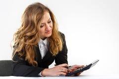 Biznes, pióro, kobiety Fotografia Stock