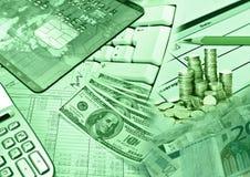 biznes pieniężny Obraz Stock