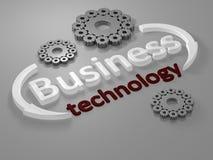biznes pisze list technologię Obrazy Stock