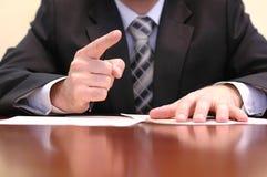 biznes przejawów spotkać Fotografia Stock