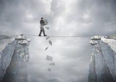 Biznes równowaga obraz stock