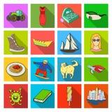 Biznes, restauracja, higiena i inna sieci ikona, ilustracji