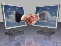 biznes shake ręce Zdjęcie Royalty Free