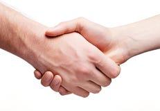 biznes shake ręce Zdjęcie Stock