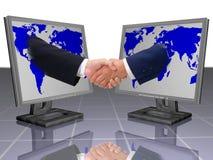 biznes shake ręce Obrazy Stock