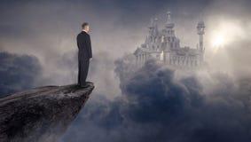 Biznes, sprzedaże, marketing, sukces, cele, Surrealistyczni zdjęcie stock