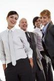 Biznes szczęśliwa drużyna Fotografia Royalty Free