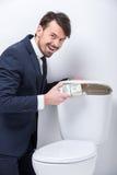 Biznes toaleta Obrazy Stock