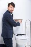 Biznes toaleta Zdjęcie Royalty Free