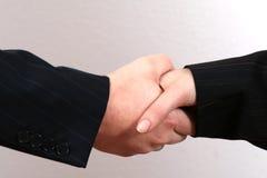 biznes uścisk dłoni zdjęcie royalty free