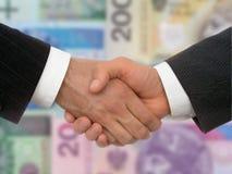 biznes uścisk dłoni Zdjęcie Stock
