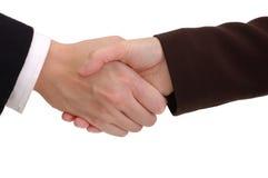 biznes uścisk dłoni Obraz Stock