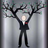 biznes uprawy winorośli ilustracja wektor