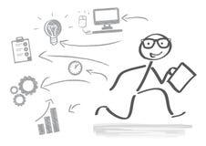 Biznes, uruchomienie Ilustracja Wektor