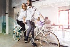 Biznes w ruchu, partnerstwo Zdjęcie Stock