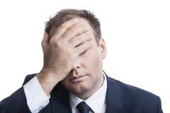 Biznes w stresie Zdjęcie Stock
