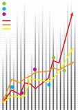 biznes wartości udziału w rynku royalty ilustracja