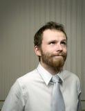 biznes wprawiać w zakłopotanie mężczyzna fotografia royalty free