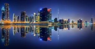 Biznes zatoka Dubaj, UAE Obraz Stock
