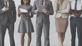 Biznesmenów bizneswomanów zarządzania biura pojęcie Fotografia Royalty Free