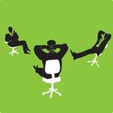 biznesmenów krzesła Ilustracja Wektor