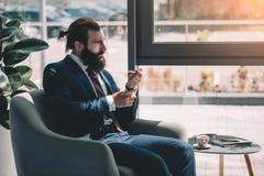 Biznesmen obraz royalty free
