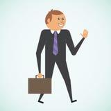Biznesmen royalty ilustracja