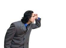 biznesmen 3 izolacji zdjęcie stock