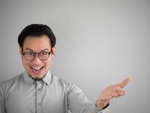 biznesmen azjatykci szczęśliwy Obrazy Stock