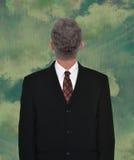 Biznesmen głowa Backwards, biznes, sprzedaże Fotografia Stock