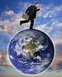 biznesmen globalne Fotografia Stock