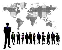 biznesmen globalny Zdjęcie Stock