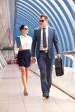 Biznesmen i konsultant zdjęcia stock