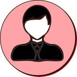 Biznesmen ikona Obrazy Stock