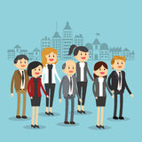 Biznesmen ikony projekt Obraz Royalty Free