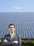 biznesmen kasetonuje słonecznego Zdjęcia Royalty Free