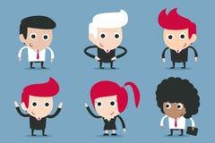 Biznesmen kreskówka Obraz Stock