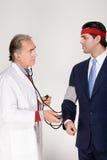 Biznesmen ma medycznego Obrazy Royalty Free