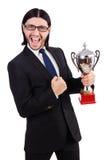 Biznesmen nagradzający zdjęcie stock