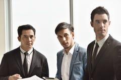 Biznesmen nowe pokolenie biznesmeni fotografia royalty free