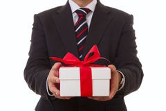 Biznesmen oferta Obrazy Royalty Free