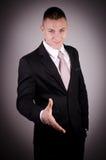 Biznesmen ofiary uścisk dłoni Zdjęcia Stock
