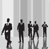 biznesmen osoby vip royalty ilustracja