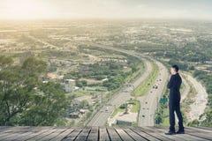 Biznesmen plan obraz stock
