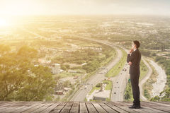 Biznesmen plan fotografia royalty free