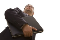 biznesmen pomyślny Fotografia Stock